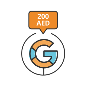 تصویر تبلیغات گوگلی ـ پکیج  A ـ 200 درهم