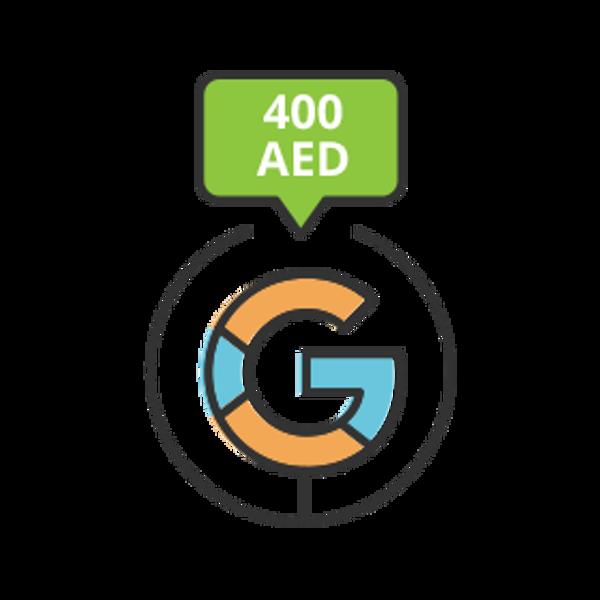 تصویر تبلیغات گوگلی ـ پکیج  B ـ 400درهم