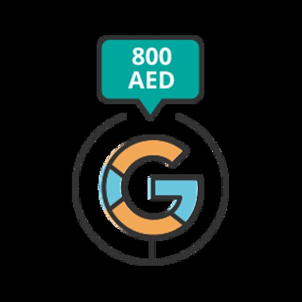 تصویر تبلیغات گوگلی - پکیج C ـ 800 درهم