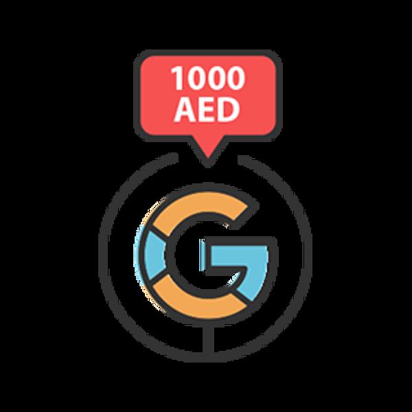 تصویر تبلیغات گوگلی - پکیج A ـ 1000درهم